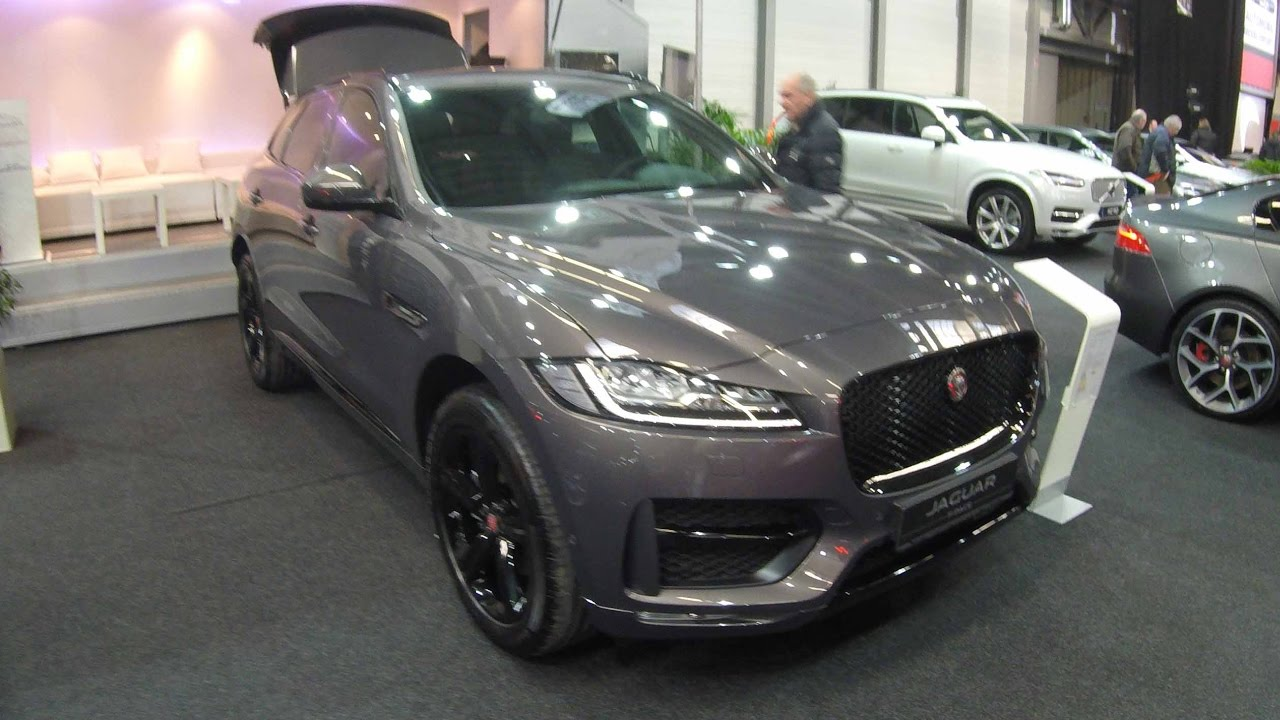 2018 jaguar f pace interior. delighful 2018 jaguar fpace  rsport suv grey colour walkaround and interior in 2018 jaguar f pace interior