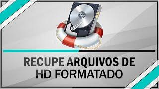 como recuperar arquivos de um hd formatado