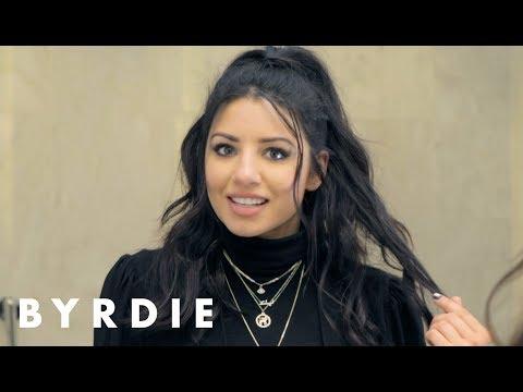 Easy Half-Up Ponytail Hairstyle With Justine Marjan | Byrdie