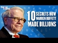 Top 10 Secrets To Success By Warren Buffett | How To Become Rich In Life | Startup Stories