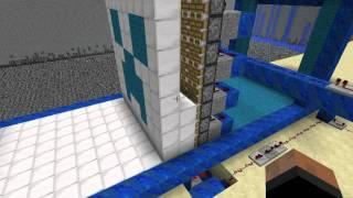 Repeat youtube video Minecraft: Redstone powered 3D Printer (Release video)