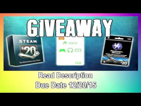 XBOX CARD GIVEAWAY