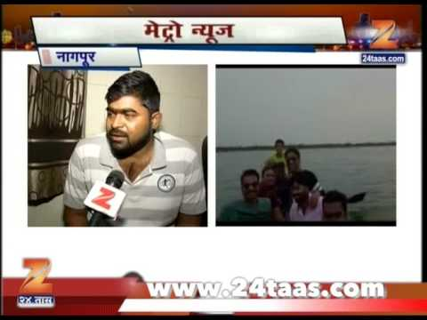 Nagpur A Talk With The Survivor Of The Boat Accident