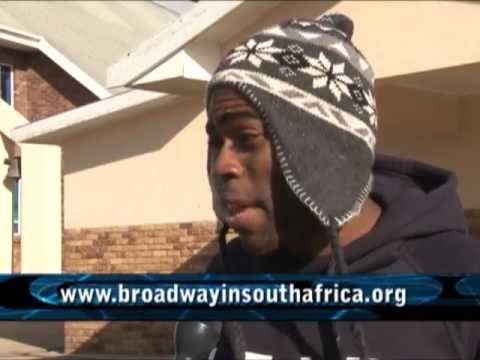 Sean Bradford.Broadway in South Africa