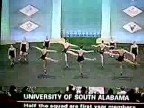 south alabama wins 3rd place at 2007 uda college nationals