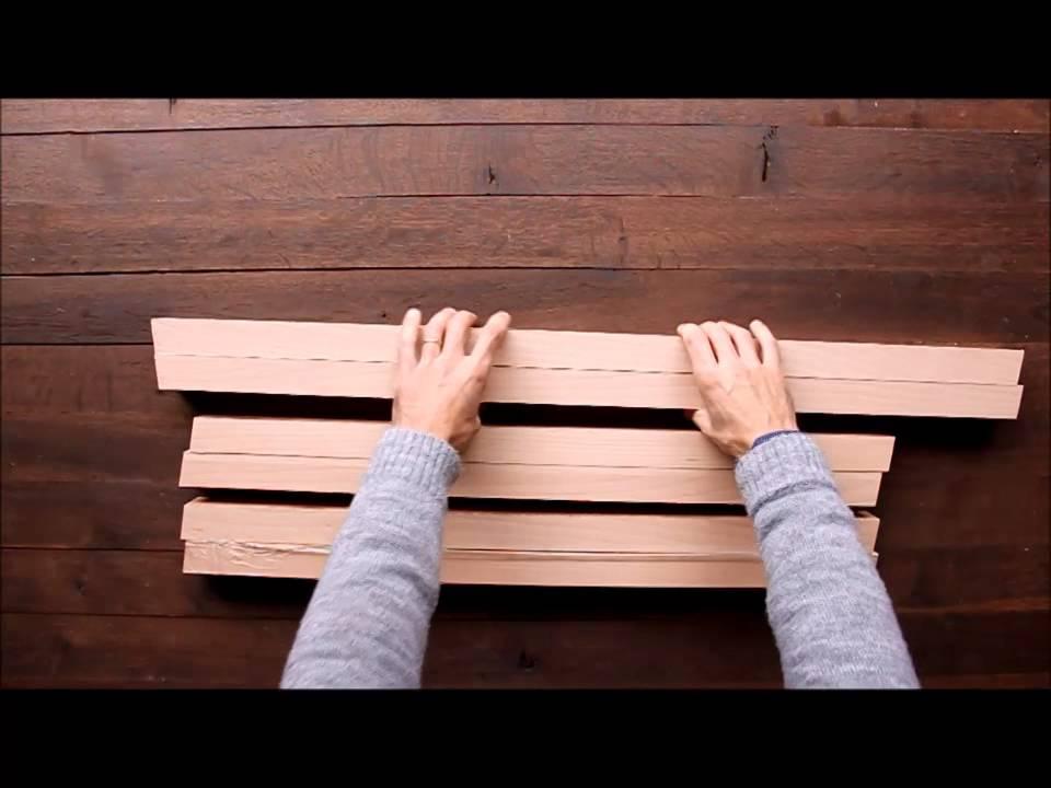 Comment Realiser Une Table Design En Bois Massif