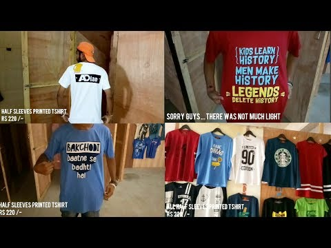 BEER STUDIO | CHEAP TSHIRT | LATEST COLLECTION | 2017 |FACTORY OUTLET | KALER | BHIWANDI |