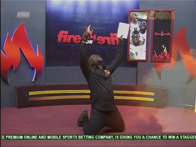 Commentary Position - Fire 4 Fire on Adom TV (13-8-18)