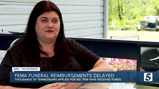 Families left waiting on FEMA's COVID-19 Funeral Assistance funds