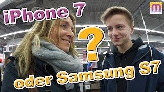 Neues Handy für Mama?  iPhone 7 oder Samsung Galaxy S7? Vlog# 59 marieland