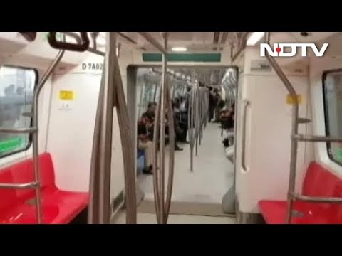 Part Of Delhi Metro's Pink Line To Open On March 14
