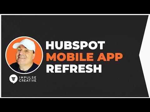 HubSpot Mobile App Refresh 2019