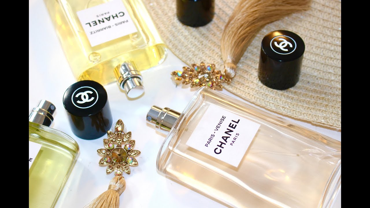8acda205ec Introducing Three New Exclusive CHANEL Fragrances 'LES EAUX'