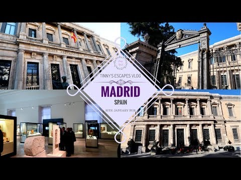 I Literally Spend My Whole Day In The Archaeology Museum | Madrid SPAIN || Tinny's ESCAPES Vlog