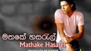 Mathake Hasarel Instrumental - K N S Production Ft.Dushyanth Weeraman ( With Lyrics )