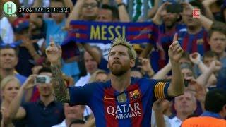 اهداف مبارة برشلونة و ريال بيتيس 6-2 الدوري الإسباني 20-8-2016