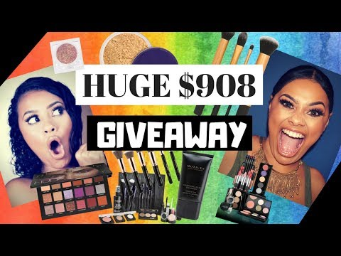 HUGE $908 GIVEAWAY! INTERNATIONAL (OPEN) | Evette Santos