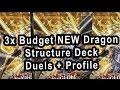 3x Budget Dragon Structure Deck Testing! Duels Plus Deck Profile