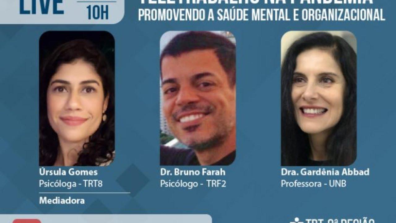 Teletrabalho na pandemia: Promovendo a saúde mental e organizacional