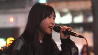 2016/04/23 20時~ HEP FIVE前 路上ライブ 下北姫菜 https://twitter.co...