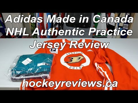 Adidas Made In Canada NHL Practice Jersey Anaheim Ducks Team Sale