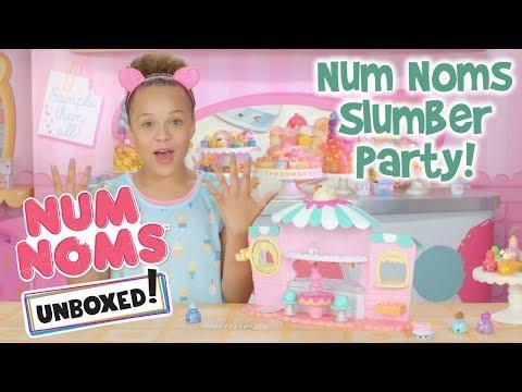 Unboxed! | Num Noms | Episode 10: Num Noms Slumber Party!