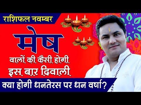 MESH Rashi ♈ ARIES | Predictions for NOVEMBER - 2018 Rashifal | Monthly Horoscope | Suresh Shrimali
