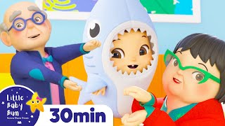 Baby Shark Dance - Let's Dance Together +More Nursery Rhymes | ABCs and 123s | Little Baby Bum