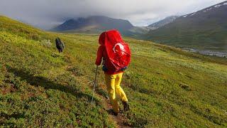 Exploration of Sarek national park, Lapland, Sweden
