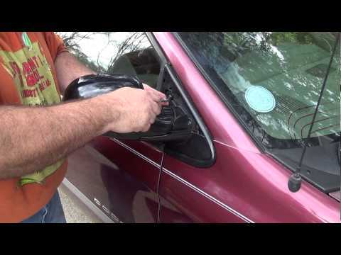 How To: Replace The Side Mirror on a Dodge Caravan, Plymouth Voyager, Chrysler Town and Country