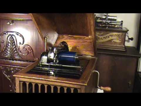 Edison Amberola 30 Phonograph Unusual Early Production Model Plays KENTUCKY DAYS By Billy Murray