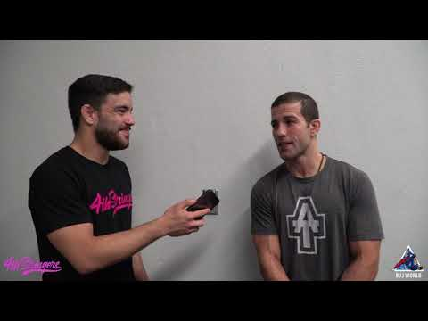 """ADCC -66kg Champion Augusto """"Tanquinho"""" Mendes Post Match Interview"""