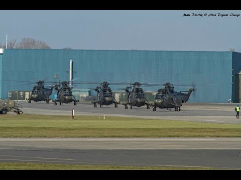 "Sea King Mk4 ""Junglie"" Farewell tour 21st March 2016"