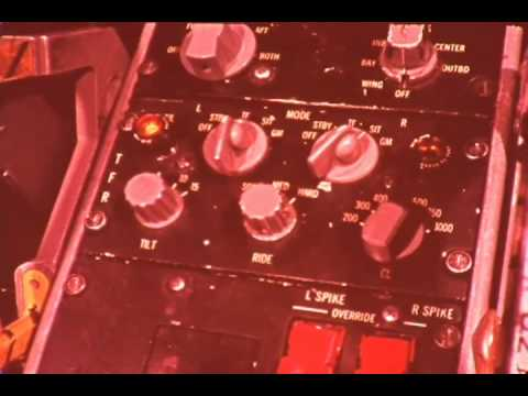 F-0016 General Dynamics F-111 Video:  Weapons System