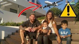 KOK BISA? Mengapa Pesawat Tak Diizinkan Terbang Diatas Rumah Lionel Messi ?