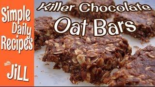 Killer Chocolate Oat Bars