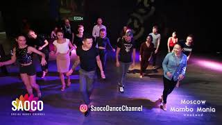 Charlie Garcia, Olesya Petrova, Oleg Sokolov and Jay Lee Animation Dancing at MamboMania, 28.10.2018