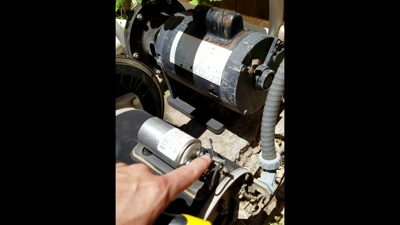 Century Centurion Pool Pump Humming Installing New Capacitor Youtube Pentair Challenger Wiring Diagram