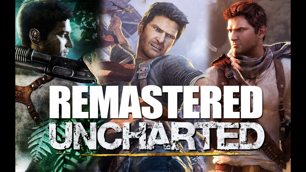 Uncharted Trilogy Remastered Para PS4