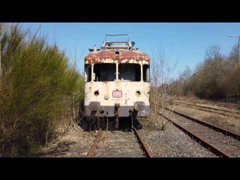 Lost Place Verlassene Züge In Der Pfalz