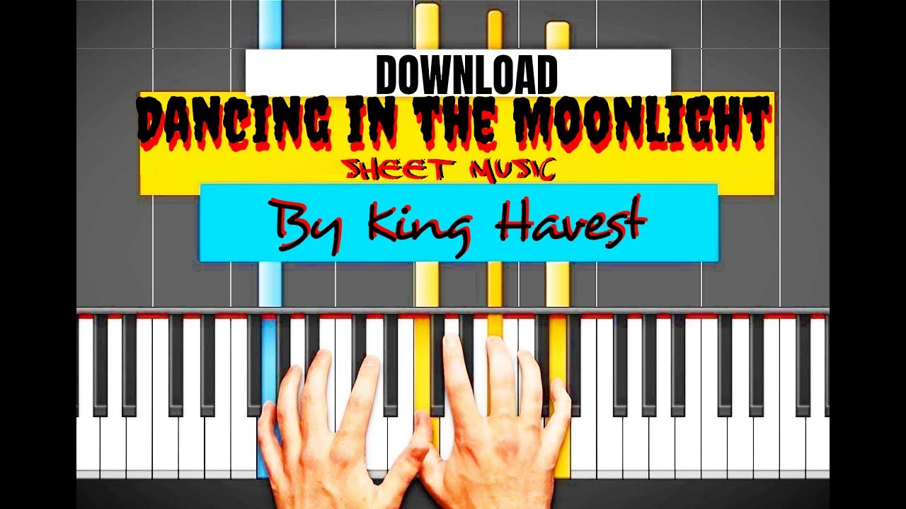 Song Of Storms Roblox Piano Sheet Download Dancing In The Moonlight Sheet Music In
