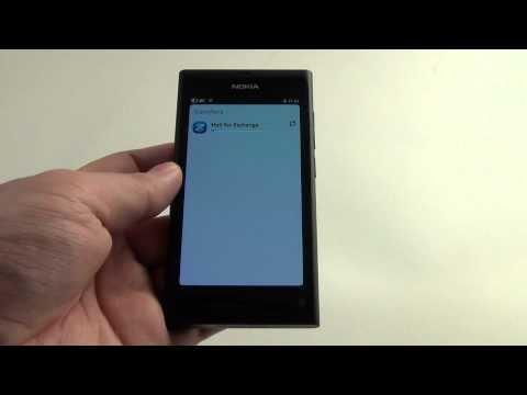 Nokia N9 Contacts, Calendar, Mail Exchange Sync With Google