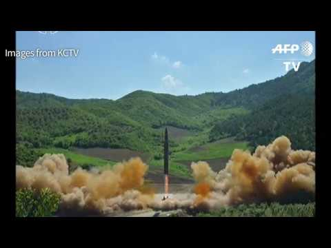 North Korea claims major breakthrough with first ICBM test
