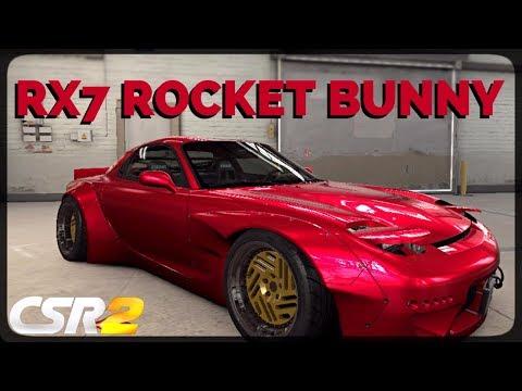 CSR Racing 2 - Mazda RX7 Rocket Bunny delivery  - Milestone prize