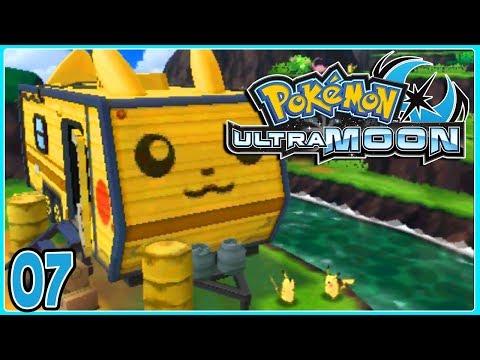 Pokemon Ultra Moon Part 7 PIKACHU VALLEY! Gameplay Walkthrough ( Pokemon Ultra Sun & Ultra Moon )