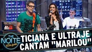 """The Noite (24/07/15) - Ticiana Villas Boas canta """"Marilou"""" com Ultraje a Rigor"""