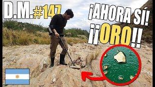 Encontramos ORO GRUESO en un río ARGENTINO 🇦🇷 ¡Fiebre del ORO! - Detección Metálica 147