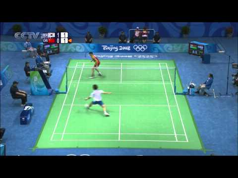 Olympics 2008 MS QF Bao Chunlai vs Lee Hyun Il 2008年奥运会 鲍春来vs李铉一 HD