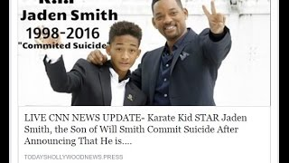 Jaden Smith Dead: Did Actor Really Commit Suicide?