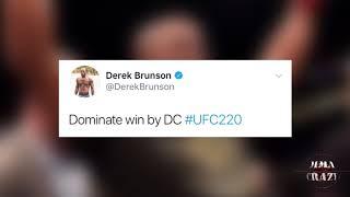 Daniel Cormier TKO over Volkan Oezdemir at UFC 220 UFC 220: Daniel ...